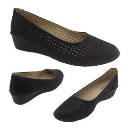 ladies shoes bellissimo embry slip on black casual work