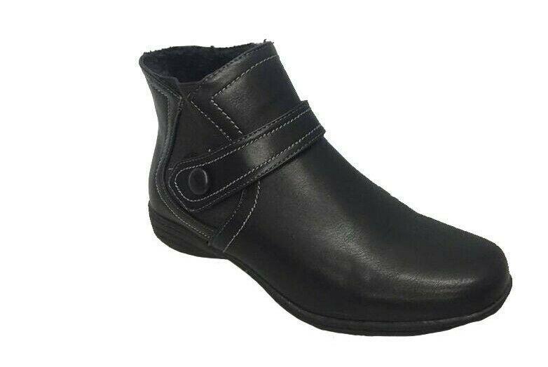 Ladies Boots Skyline Letitia Black Zip
