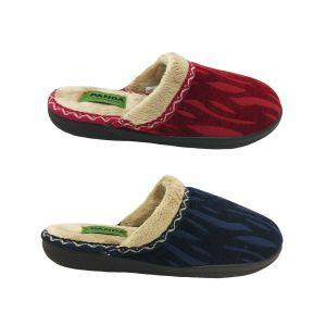 Ladies Slippers Panda Engel Slip on Mule Slipper Soft Memory Foam Comfy 5-10