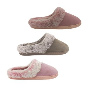 Ladies Slippers Grosby Invisible Support Neptune Mule Soft Lining