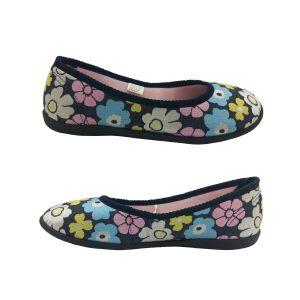 Ladies Slippers Panda Elgin Floral Low cut Slip on House Slipper Soft Size 5-10